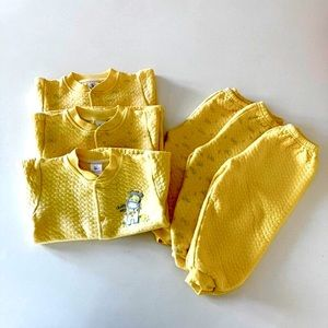 3/$20 Thick Quilted Baby Matching Pajamas
